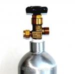 Alsafe алюминиевый баллон СО2 2 литра