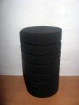 Фильтр -губка серая крупнопористая круглая  d8х14см