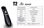 Пульт Fly Air Mouse T2 Wireless 2.4G