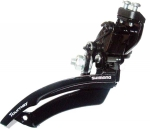 Переключатель Shimano Tourney FD-TZ20, верхняя тяга. Под трубу 28,6