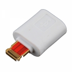 Адаптер microUSB - Lightning (8 pin) коннектор для iPhone 5, iPad 4 и iPad mini