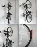 Крепление для велосипеда на стену за колесо