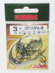 Крючки BratFishing ISEAMA-R, №3