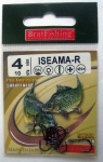 Крючки BratFishing ISEAMA-R, №4