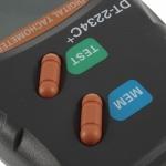 Цифровой фото тахометр, лазерный, бесконтактный DT-2234C+