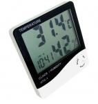 Термометр, Гігрометр, Годинник, Будильник HTC-1