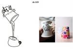 Настольная лампа Стакан с кофе USB
