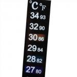 Термометр наклейка для аквариумов