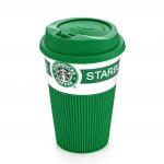 Керамическая кофе-чашка, непроливайка, кофе с собой